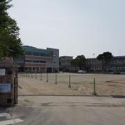 삼산초등학교 입구