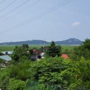 승영중학교 입구에서 바라본 마을 모습